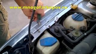 Амортизатор (упор) капота на Skoda Octavia Tour KU-SK-OCTR-00 (обзор, установка)