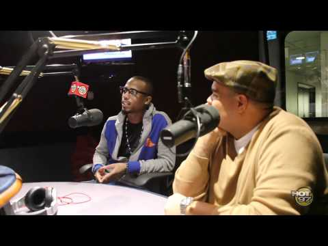 B.O.B. Stops by the Angie Martinez Show
