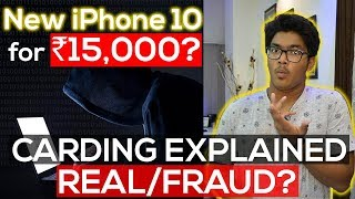 Buy iPhone X @ ₹10,000, Laptops @ Rs.5,000! 100% Genuine *REAL* Instagram Sellers! Carding Explained