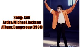 Michael Jackson - Jam Lyrics Video