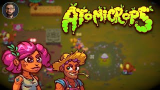 Atomicrops Review | Farming action roguelite (Video Game Video Review)