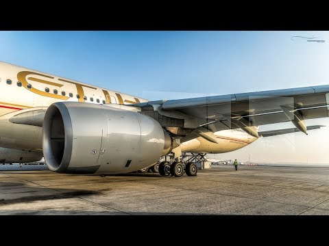 TRIP REPORT - Etihad A340-600 BUSINESS CLASS - Seoul to Abu