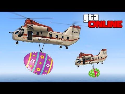 EASTER EGG HUNT CHALLENGE!    GTA 5 Online    PC (Funny Moments)