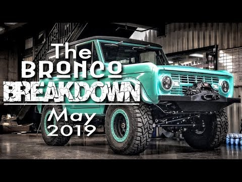 The Bronco Breakdown: The Hottest Ford Bronco Topics This Month