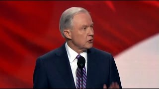 Sen. Jeff Sessions. Alabama. Speech at Republican National Convention. July 18, 2016. Free HD Video