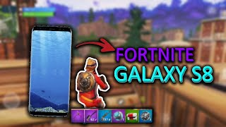 Fortnite Android Beta Gameplay (Samsung S8)