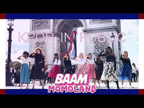 [DANCING TO KPOP IN PUBLIC PARIS] MOMOLAND (모모랜드) - BAAM (배앰) Dance Cover By RISIN'CREW From France