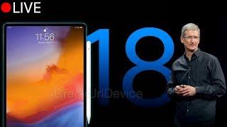 October Apple Event - LIVE Video Stream: iPad Pro 2018 Keynote!