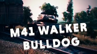 M41 Walker Bulldog - Зубастый бульдог. [WoT]