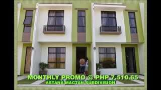 Astana Mactan Subdivision - Affordable Lowcost Housing in Cebu