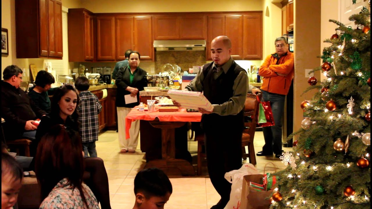 Family Christmas Party Exchange Gifts SHOT SHOT SHOT Part ...