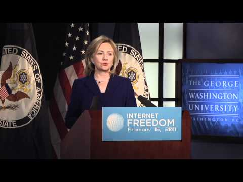 Secretary Hillary Clinton's Internet Freedom Speech at GW