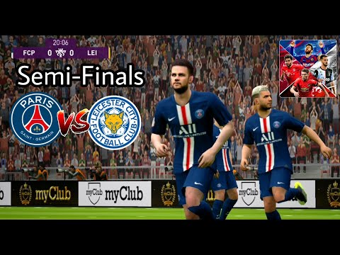 PES 2020 Mobile Gameplay | English League Challenge | Semi-Finals Match | Max GFX Setting