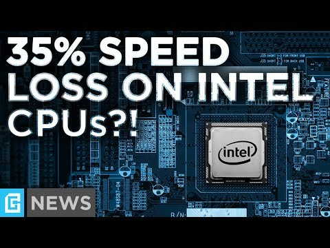 Intel CPUs Lose Up To 35% Performance! AMD Users May Be Affected