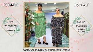 01 05 2021 Часть 1 Показ женской одежды больших размеров DARKWIN от DARKMEN Турция Стамбул