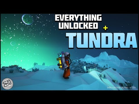 Everything Unlocked! Going to Tundra ! Astroneer Research Update E7 | Z1 Gaming