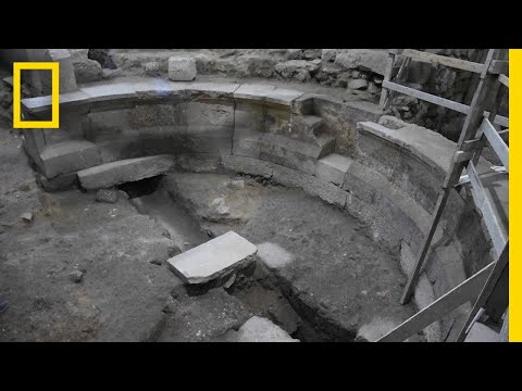 Roman Auditorium Unearthed Under Western Wall in Jerusalem | National Geographic
