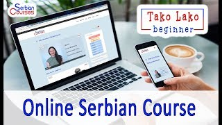 "New Beginner Serbian Course ""Tako Lako"" by Serbian Courses"