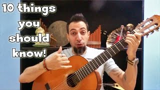 Learning Guitar?? -10- things you should know before you start!