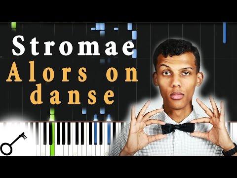 Stromae - Alors on danse [Piano Tutorial] Synthesia | passkeypiano