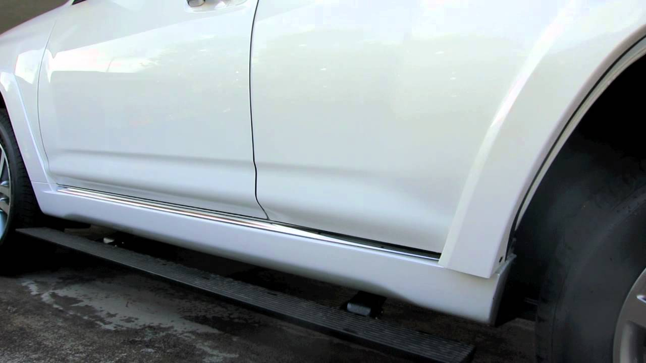 2012 Toyota 4runner Automatic Running Boards Youtube