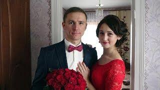 Чудове привітання молодятам від сестри нареченого. Весілля Володимира та Юлії. 21 жовтня 2017 р.