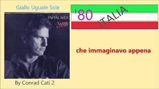 Adriano Pappalardo - Album: Sandy 1988