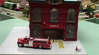 mth 30 9157 engine company 49 operating firehouse from trainz com