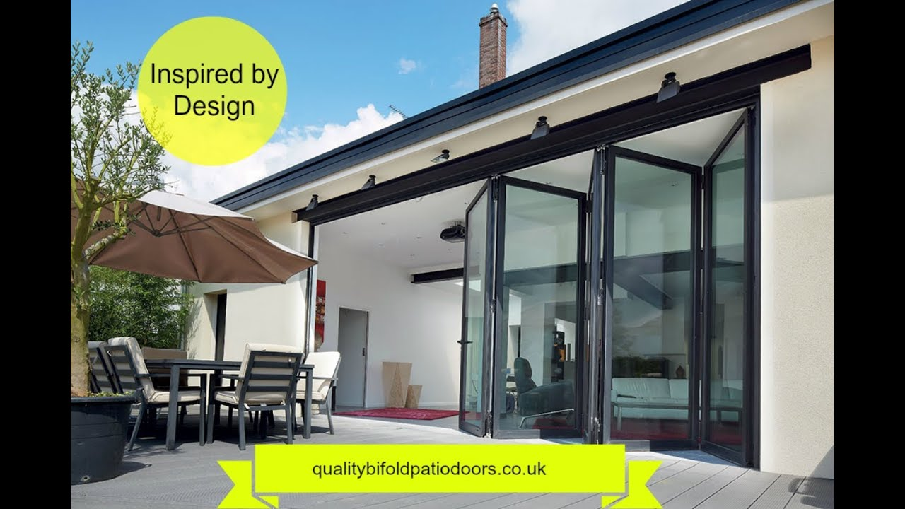 Elegant Quality Bifold Patio Doors   Buying Tips   YouTube