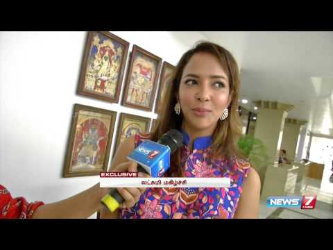 Actress Lakshmi Manchu feels nostalgic about Chennai   Tamil Nadu   News7 Tamil