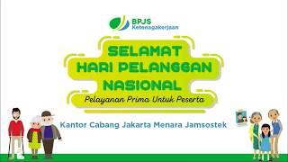 Hari Pelanggan Nasional 2018 BPJS Ketenagakerjaan Kantor Cabang Jakarta Menara Jamsostek