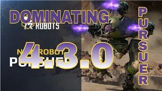 War Robots - Prusure Dominating Test Server 4.3