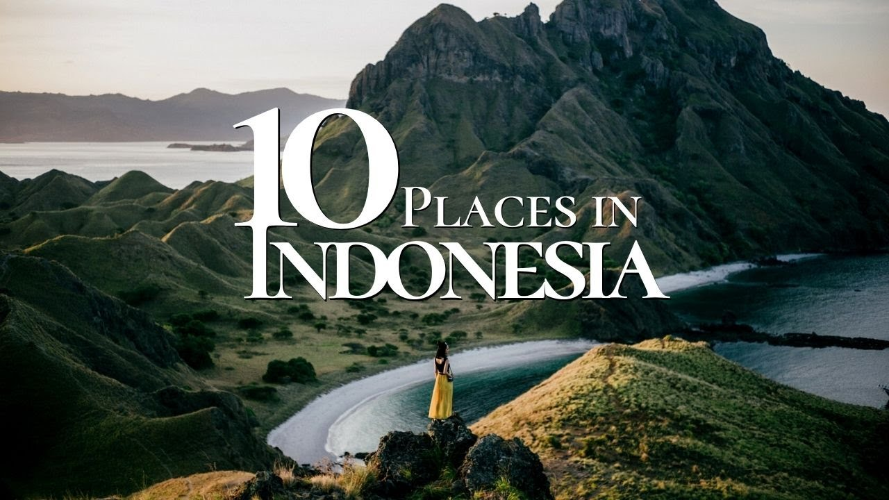 Download 10 Beautiful Tourist Destinations to Visit in Indonesia 🇮🇩  | Indonesia Travel Video