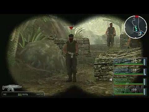 SOCOM: U.S. Navy SEALs Tactical Strike Sony PSP Gameplay -