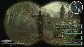 SOCOM: U.S. Navy SEALs Tactical Strike Sony PSP Gameplay -