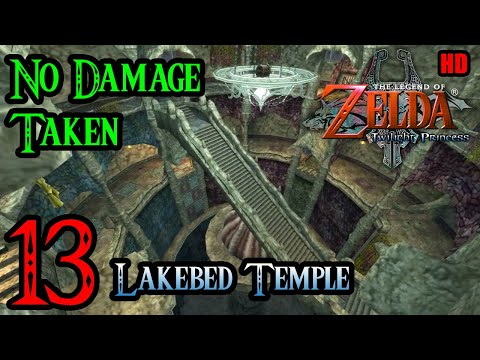 Zelda Twilight Princess Wii 100% Walkthrough 1080p HD Part 13 - Lakebed Temple - Water Temple