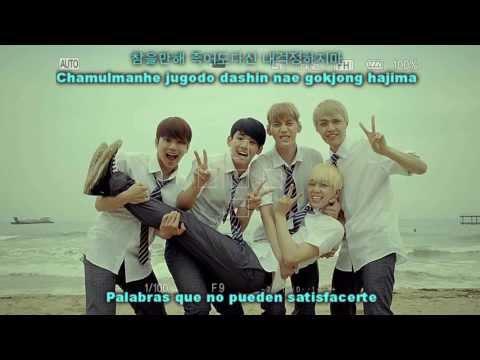 MYNAME (마이네임) - Baby I'm Sorry [Sub Español + Hangul+ Romanización]