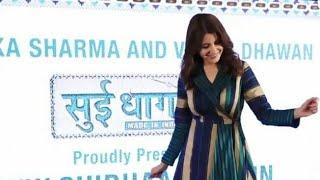 ANUSHKA SHARMA AND VARUN DHAWAN AT SUI DHAGA PROMOTIONS