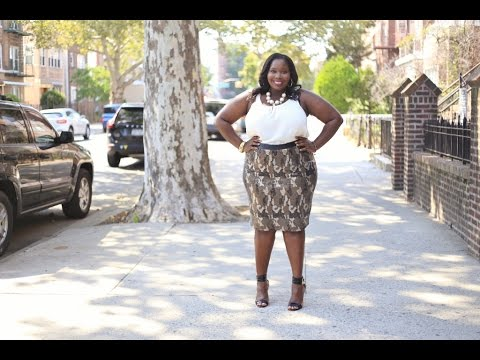 Plus Size Fashion: Outfit Of The Day Featuring Lane Bryant Sequin ...