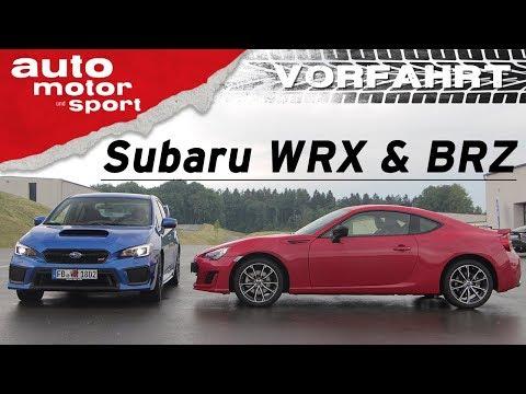 Subaru WRX & BRZ: Buchstabensalat mit Spaß-Garantie - Vorfahrt (Review) | auto motor und sport