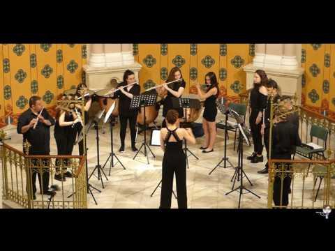 01.06.2017 Concierto del Ensemble de Flautas: Bach, Boismortier, Grieg, Brotons, Costa y Bizet