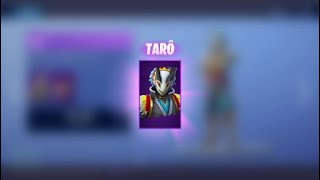 "TEST OF NEW SKIN ""TARO"" - PIOCHE ""GARDIENNE OF TEMPLE"" - Fortnite"