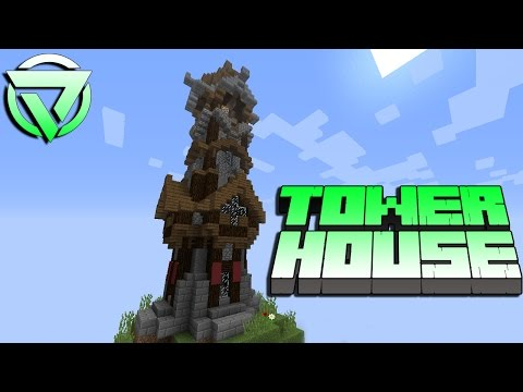 Minecraft Tutorial - TOWER HOUSE