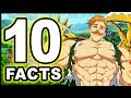 Top 10 Escanor Facts You Didn't Know! (Seven Deadly Sins / Nanatsu no Taizai)