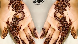 New easy & stylish mehndi design for festival | मेहंदी डिजाइन