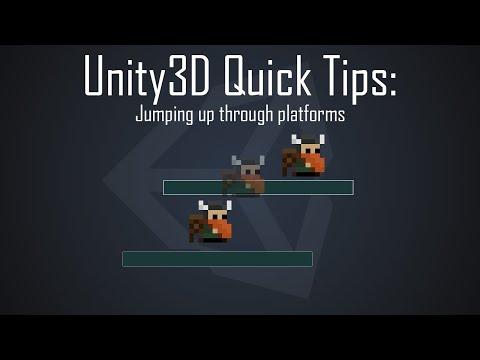 Unity3D Quick Tips: Jumping up through platforms