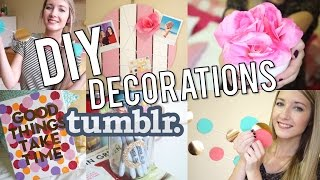 DIY | Décorations de chambre inspiration TUMBLR