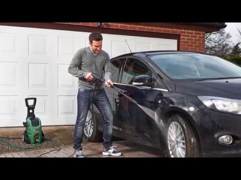 Bosch AQT 37-13 Home & Car Washer - Product Demonstration