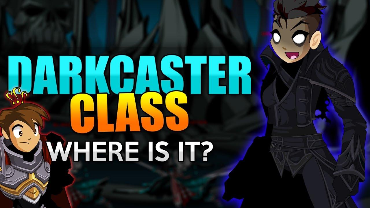 DARKCASTER CLASS - Where is it? (Black Caster Class) AQW AdventureQuest  Worlds