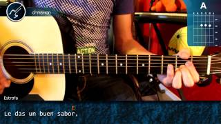 "Cómo tocar ""Chocolate"" de Jesse & Joy en guitarra (HD) Acordes - Christianvib"